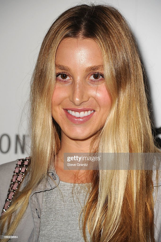 Whitney Port arrives at the The Beverly Hilton Unveils Redesigned Aqua Star Pool By Estee Stanley at The Beverly Hilton Hotel on May 22, 2013 in Beverly Hills, California.