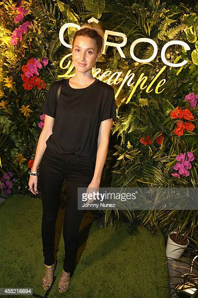 Whitney Port attends CIROC Offical Toast Of MercedesBenz Fashion Week With Designer Erin Fetherston at Lincoln Center on September 10 2014 in New...