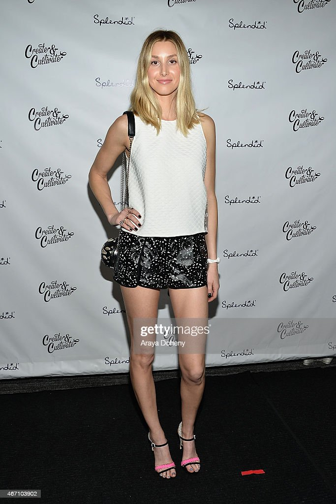 Whitney Port attends Create & Cultivate's Speaker Celebration at The Line Hotel on March 20, 2015 in Los Angeles, California.