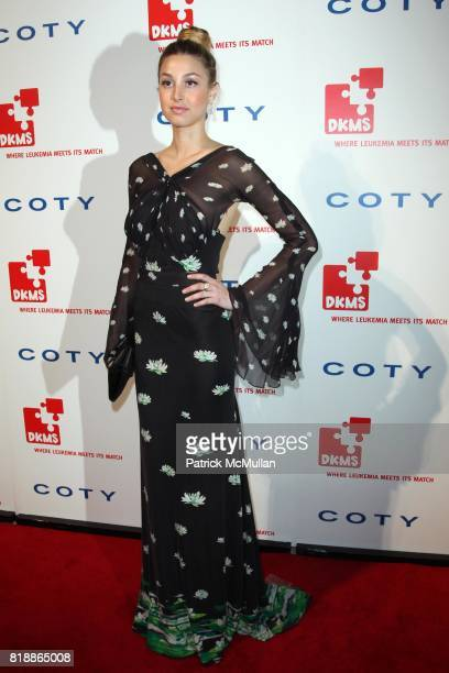 Whitney Port attends DKMS' 4th Annual Gala' LINKED AGAINST LEUKEMIA at Cipriani's 42nd St on April 29 2010 in New York City