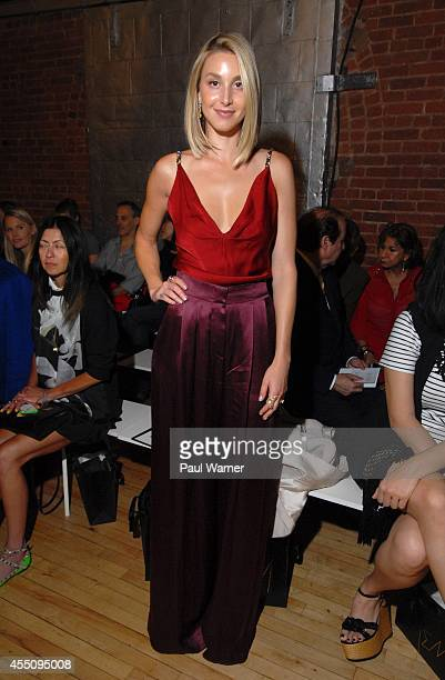 Whitney Port attends Jenny Packham during MercedesBenz Fashion Week Spring 2015 at The Waterfront on September 9 2014 in New York City