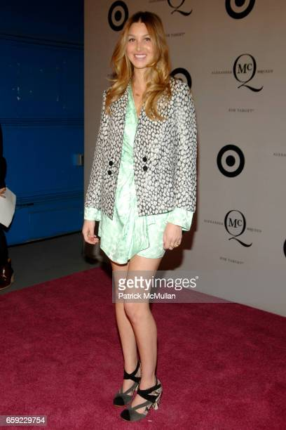 Whitney Port attends McQ Alexander McQueen for Target Debuts TARGET McQ MARKET in NYC at St John's Center on February 13 2009 in New York City