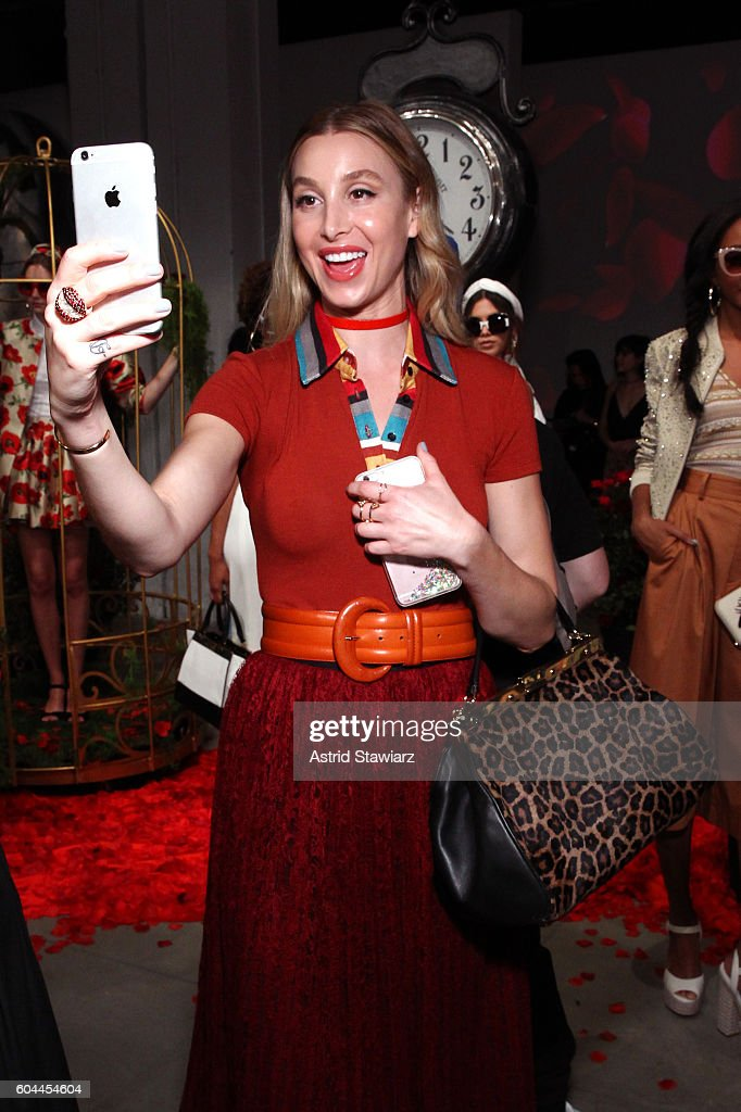 Whitney Port attends the Alice + Olivia by Stacey Bendet Spring/Summer 2017 Presentation during New York Fashion Week September 2016 at The Gallery, Skylight at Clarkson Sq on September 13, 2016 in New York City.