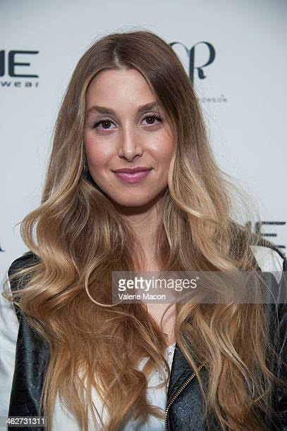 Whitney Port attends the Council Of Fashion Designers Of America Celebrate The Launch Of The 4th Annual Design Series For Vogue Eyewearon party on...