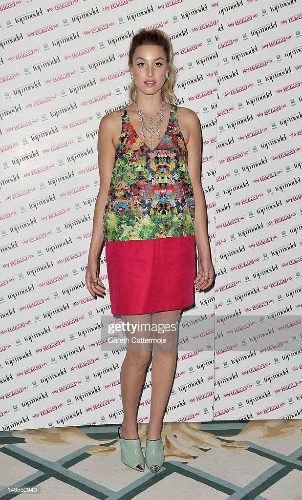 <a gi-track='captionPersonalityLinkClicked' href=/galleries/search?phrase=Whitney+Port&family=editorial&specificpeople=544473 ng-click='$event.stopPropagation()'>Whitney Port</a> attends the launch of Sky Living's model search at Claridges Hotel on June 19, 2012 in London, England.