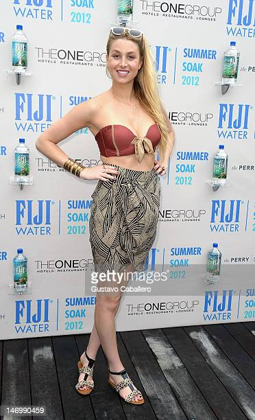Whitney Port attends the Rooftop Pool at the Perry South Beach on June 24 2012 in Miami Florida