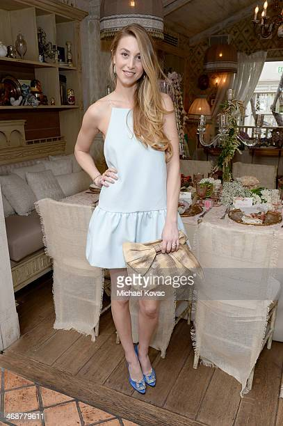 Whitney Port attends Wedding Paper Divas Presents 'Whitney Port's Love Story' at Mari Vanna Los Angeles on February 11 2014 in West Hollywood...