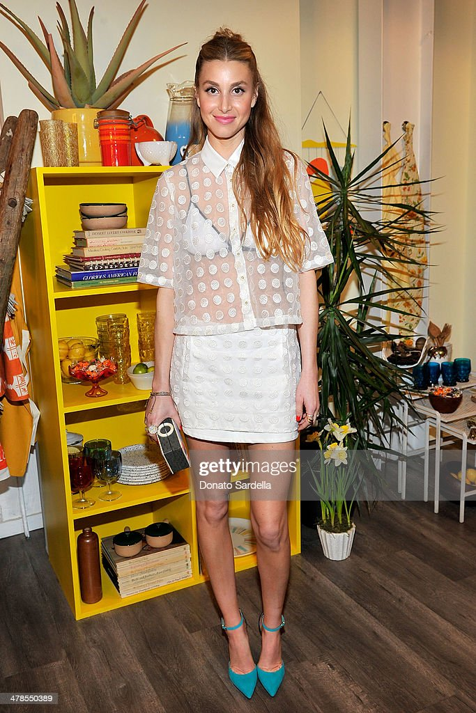 Whitney Port celebrates the launch of Hunters Alley at The Unique Space on March 13, 2014 in Los Angeles, California.