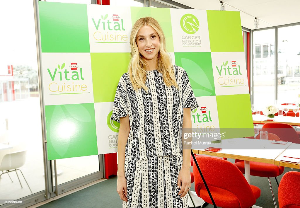 Whitney Port hosts The Cancer Nutrition Consortium celebration launch of Hormel Vital Cuisine products at Ray's & Stark Bar, LACMA on November 4, 2015 in Los Angeles, California