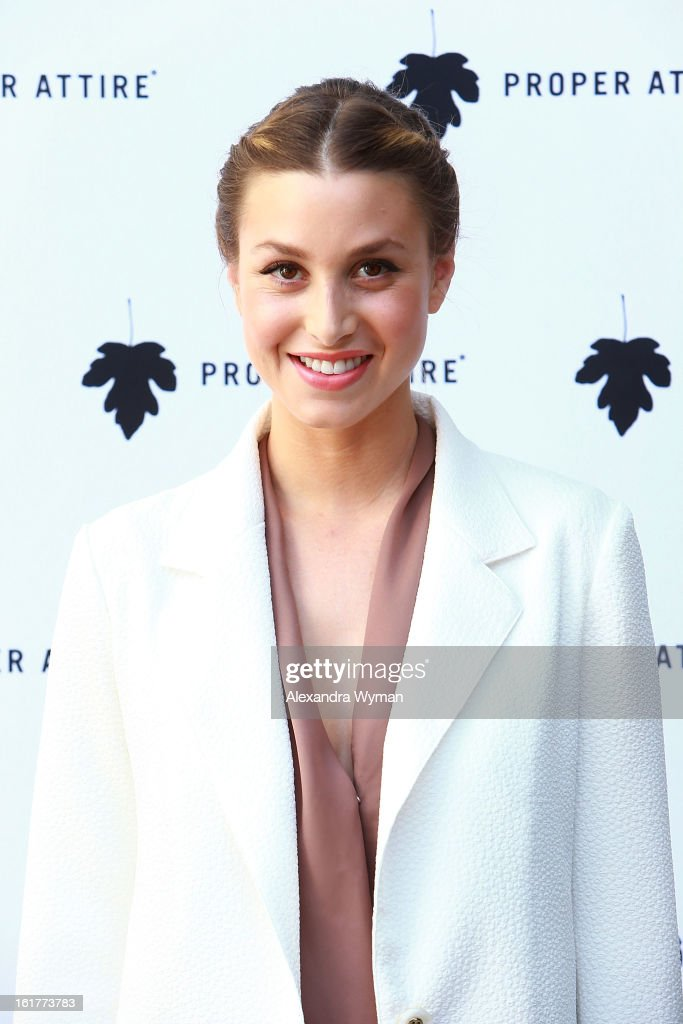 Whitney Port hosts Whitney Eve For Proper Attire Launch held The at Sunset Marquis Hotel & Villas on February 15, 2013 in West Hollywood, California.