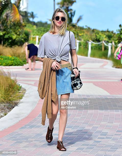 Whitney Port is sighted on December 4 2014 in Miami Florida