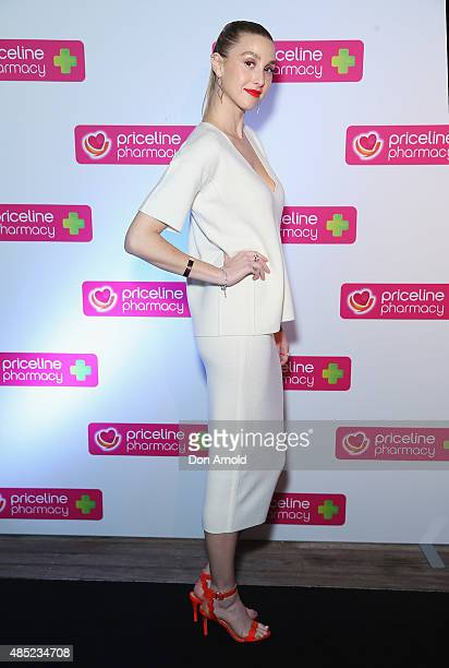 Whitney Port poses at the Priceline Pharmacy Festival of Beauty Launch at Doltone House on August 26 2015 in Sydney Australia