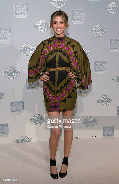 Whitney Port poses for press at the 19th Annual MuchMusic Video Awards on June 15 2008 at Chum/City Building in Toronto Canada