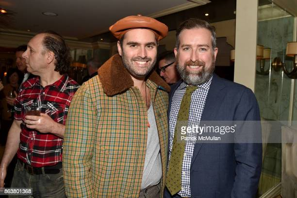 Whitney Robinson and Clinton Smith attend the launch of Second Bloom Cathy Graham's Art of the Table hosted by Joanna Coles and Clinton Smith at...