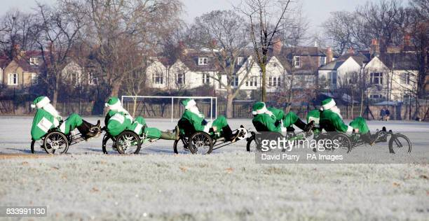 Who needs Rudolph when you have pedal power This weekend Togethercom is sending its team of Green Santas round the country to help people make a...