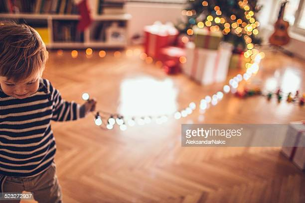 Wer Stola die Weihnachtsbeleuchtung?