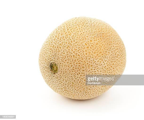 Whole Cantaloupe Isolated