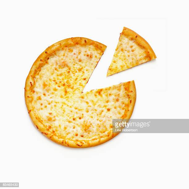 Whole Cheese Pizza with Slice