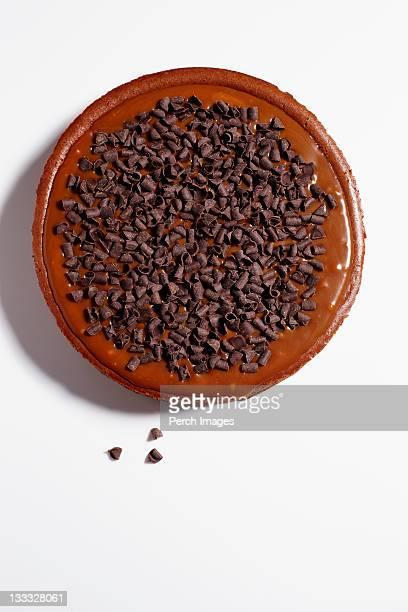 whole chocolate caramel cheesecake