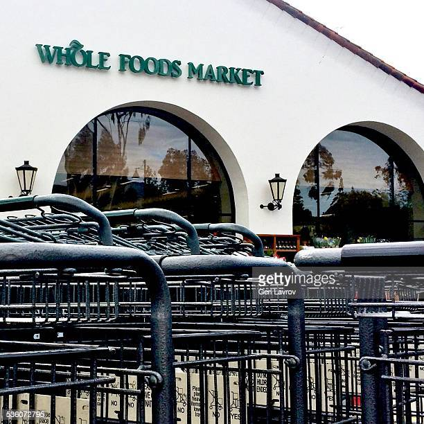 Whole Foods Market storefront sign