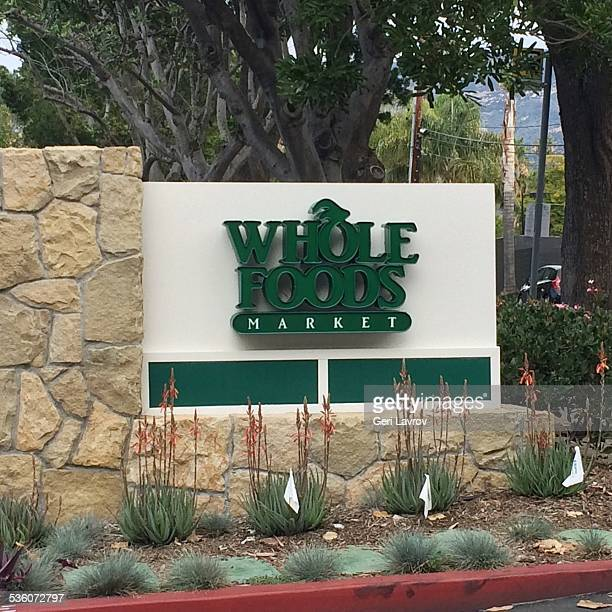 Whole Foods storefront sign