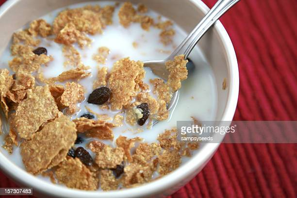 Whole Grain Cereal With Raisins