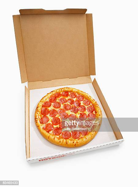 Whole Pepperoni Pizza in box