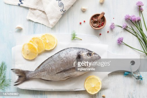 Whole seabream