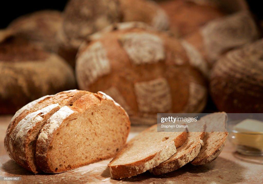 Whole wheat sourdough boules