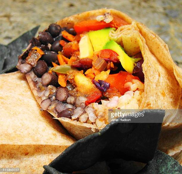 Whole Wheat Veggie Burrito