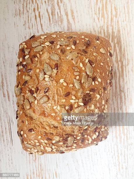 Wholegrain Bread On Table