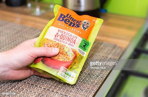 Quinoa blé complet  brochure à la tomate et au basilic