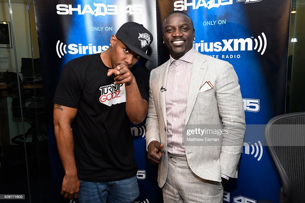 Celebrities Visit SiriusXM - May 9, 2016