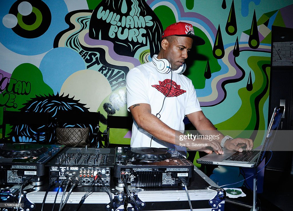 DJ Whoo Kid performs during Fuse's screening of 'The Hustle' at Converse Rubber Tracks Studio on June 18, 2013 in the Brooklyn borough of New York City.