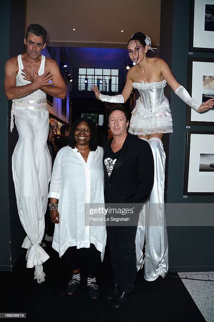 <a gi-track='captionPersonalityLinkClicked' href=/galleries/search?phrase=Whoopi+Goldberg&family=editorial&specificpeople=202463 ng-click='$event.stopPropagation()'>Whoopi Goldberg</a> and <a gi-track='captionPersonalityLinkClicked' href=/galleries/search?phrase=Julian+Lennon&family=editorial&specificpeople=211480 ng-click='$event.stopPropagation()'>Julian Lennon</a> arrive at The White Feather Foundation Charity Ball 2013 at Ballet De Monte Carlo on May 10, 2013 in Monaco, Monaco. The event raises funds for <a gi-track='captionPersonalityLinkClicked' href=/galleries/search?phrase=Julian+Lennon&family=editorial&specificpeople=211480 ng-click='$event.stopPropagation()'>Julian Lennon</a>'s charity 'The White Feather Foundation' which aims to give a voice and support to those who cannot be heard, aids, ongoing humanitarian and environmental projects, with an emphasis on water projects in 2013.