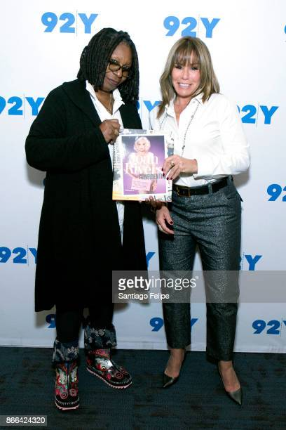 Whoopi Goldberg and Melissa Rivers visit 92nd Street Y on October 25 2017 in New York City