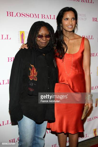 Whoopi Goldberg and Padma Lakshmi attend The BLOSSOM BALL To Benefit The Endometriosis Foundation of America at The Prince George Ballroom on April...