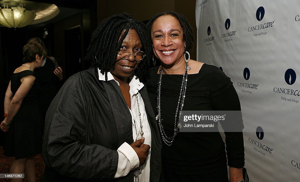 Whoopi Goldberg and S Epatha Merkerson attend the 2012 CancerCare Spring Gala at the Mandarin Oriental Hotel on June 14 2012 in New York City