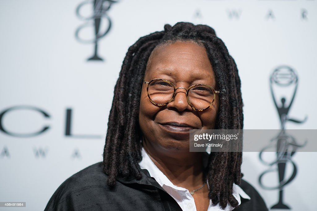 Whoopi Goldberg arrives at 55th Annual CLIO Awards at Cipriani Wall Street on October 1 2014 in New York City