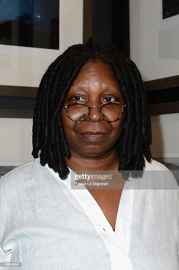 <a gi-track='captionPersonalityLinkClicked' href=/galleries/search?phrase=Whoopi+Goldberg&family=editorial&specificpeople=202463 ng-click='$event.stopPropagation()'>Whoopi Goldberg</a> arrives at The White Feather Foundation Charity Ball 2013 at Ballet De Monte Carlo on May 10, 2013 in Monaco, Monaco. The event raises funds for Julian Lennon's charity 'The White Feather Foundation' which aims to give a voice and support to those who cannot be heard, aids, ongoing humanitarian and environmental projects, with an emphasis on water projects in 2013.
