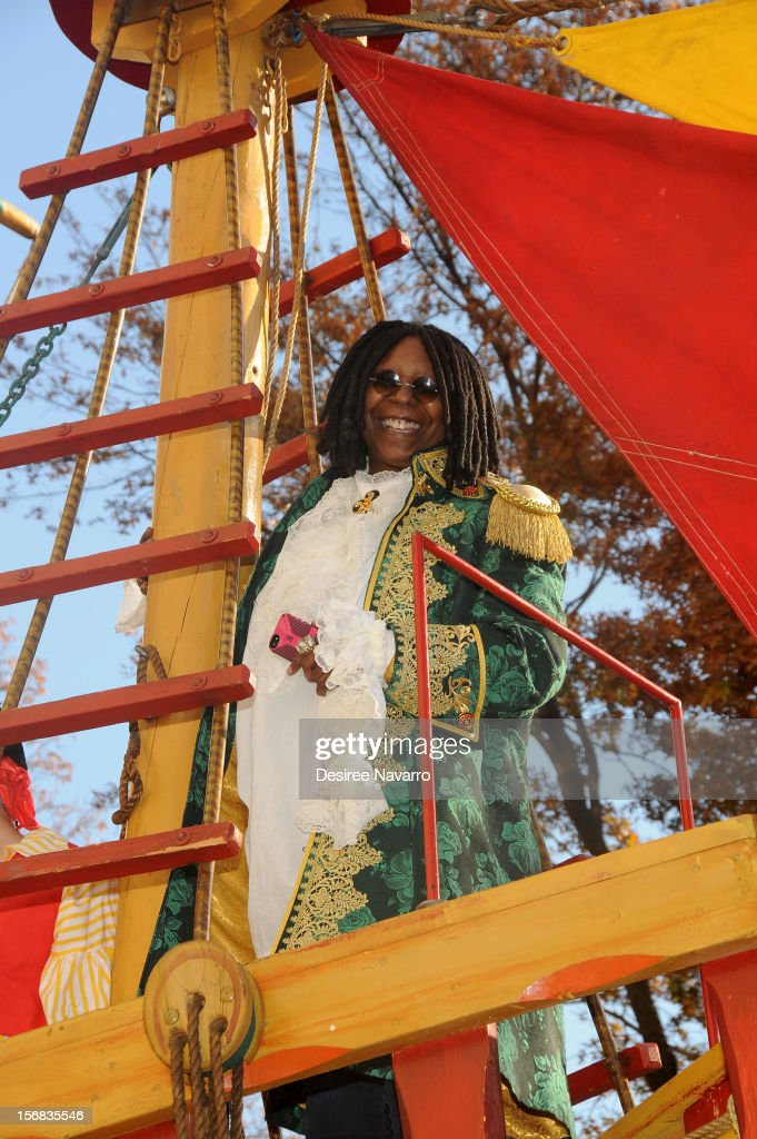 Whoopi Goldberg attends 86th Annual Macy's Thanksgiving Day Parade on November 22, 2012 in New York City.
