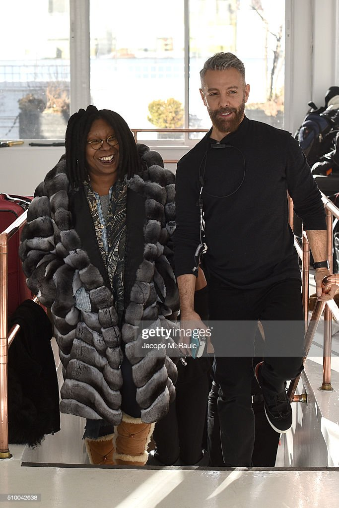 <a gi-track='captionPersonalityLinkClicked' href=/galleries/search?phrase=Whoopi+Goldberg&family=editorial&specificpeople=202463 ng-click='$event.stopPropagation()'>Whoopi Goldberg</a> attends backstage of Stevie Boi during Fall 2016 New York Fashion Week at Studio 450 on February 13, 2016 in New York City.