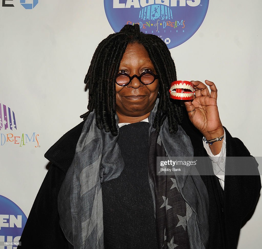 Whoopi Goldberg attends 'Garden Of Laughs' Benefit at Madison Square Garden on January 26, 2013 in New York City.