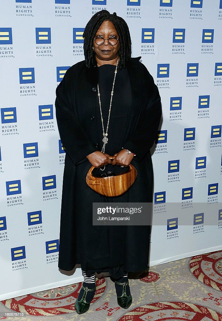 Whoopi Goldberg attends The 2013 Greater New York Human Rights Campaign Gala at The Waldorf=Astoria on February 2, 2013 in New York City.