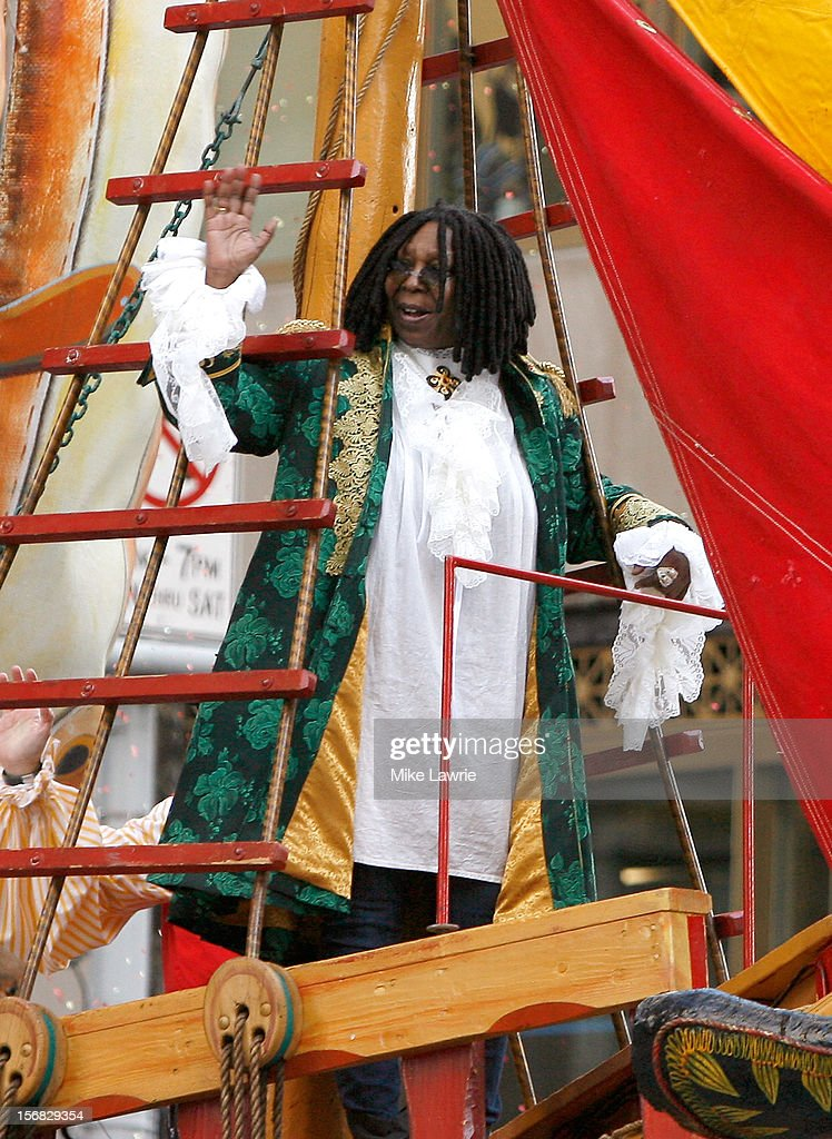 Whoopi Goldberg attends the 86th Annual Macy's Thanksgiving Day Parade on November 22, 2012 in New York City.