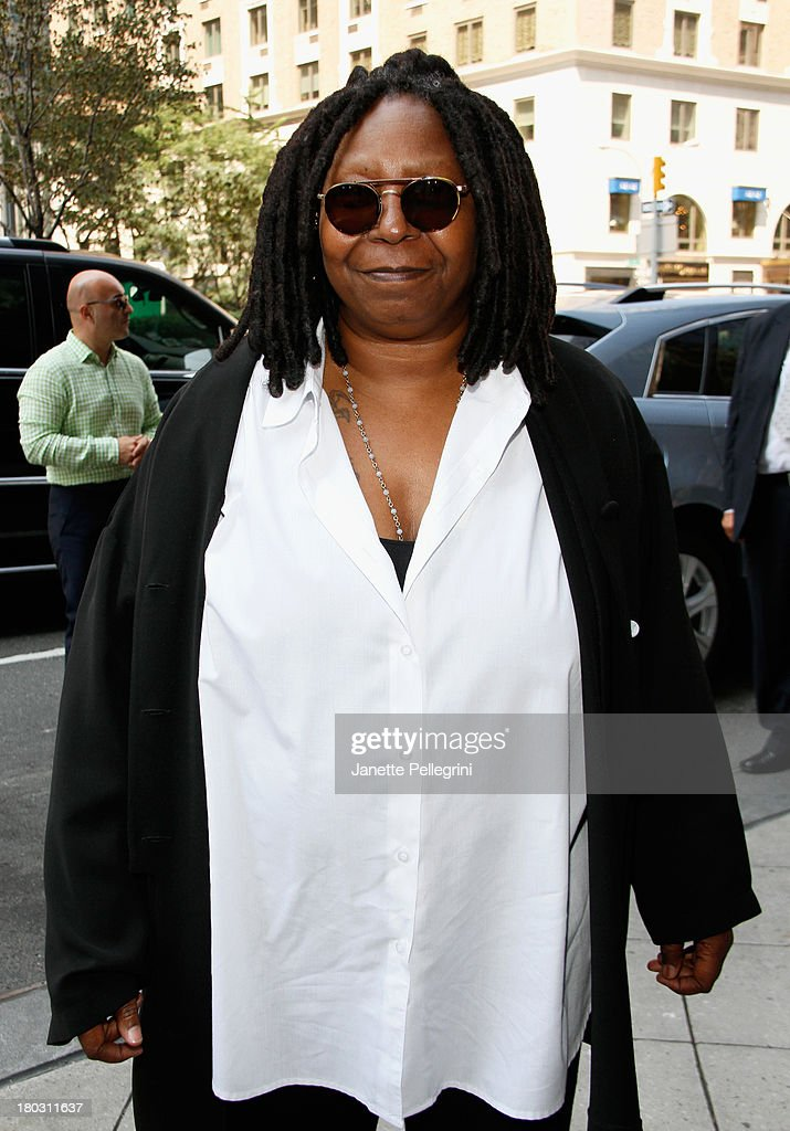 <a gi-track='captionPersonalityLinkClicked' href=/galleries/search?phrase=Whoopi+Goldberg&family=editorial&specificpeople=202463 ng-click='$event.stopPropagation()'>Whoopi Goldberg</a> attends the Annual Charity Day Hosted By Cantor Fitzgerald And BGC at the Cantor Fitzgerald Office on September 11, 2013 in New York, United States.
