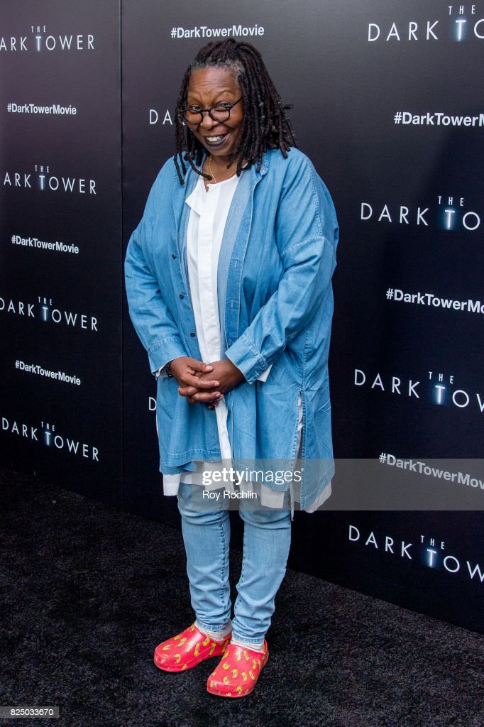 Whoopi Goldberg attends 'The Dark Tower' New York premiere on July 31, 2017 in New York City.