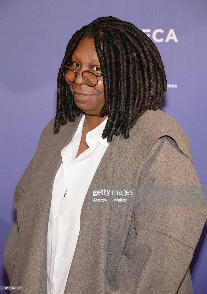 Whoopi Goldberg attends the 'I Got Somethin' To Tell You' World Premiere during the 2013 Tribeca Film Festival on April 20, 2013 in New York City.
