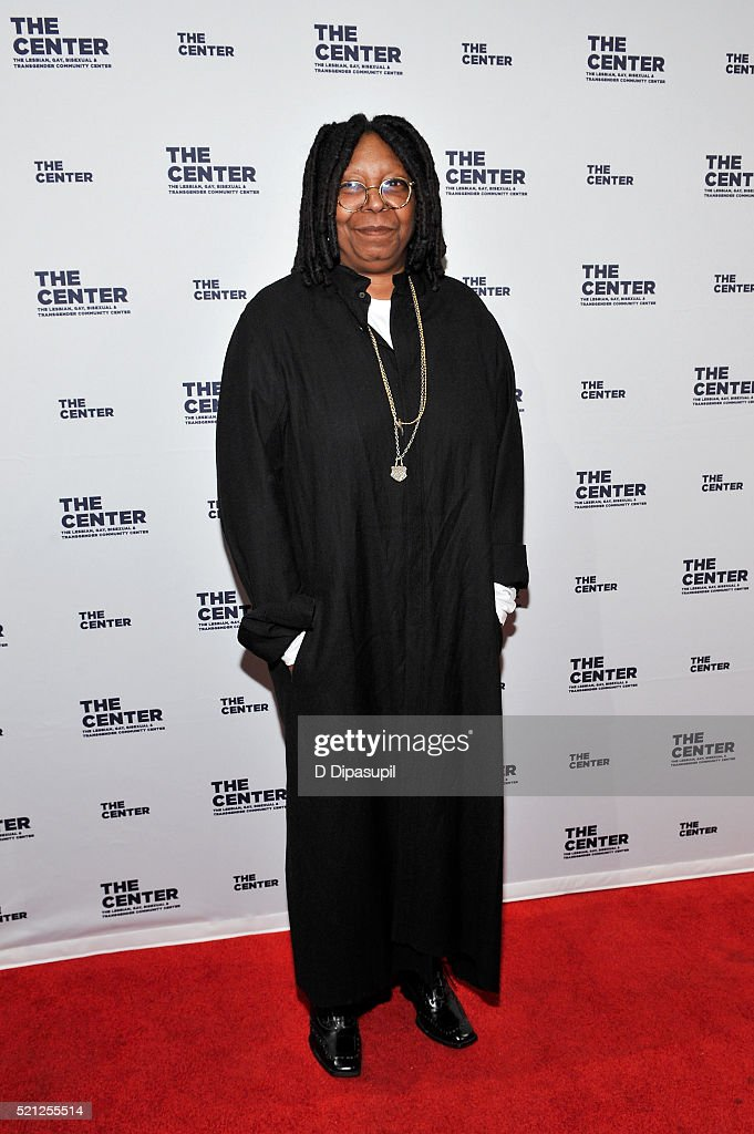 Whoopi Goldberg attends The LGBT Center of New York's annual fundraising dinner honoring Mary-Louise Parker and BNY Mellon at Cipriani Wall Street on April 14, 2016 in New York City.