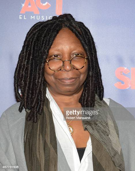 Whoopi Goldberg attends the premiere of 'Sister Act' at the Theater Tivoli on October 23 2014 in Barcelona Spain